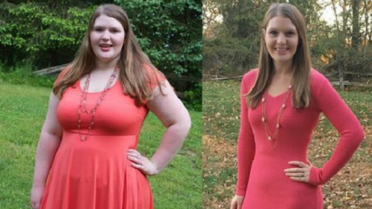 Metoda incredibilă prin care această femeie a slăbit 45 de kilograme. A făcut 3 lucruri!