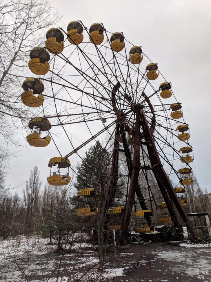 Imagini INFRICOSATOARE de la Cernobil