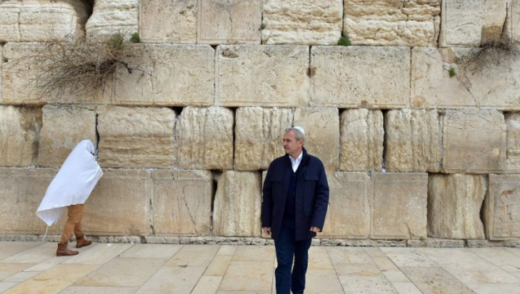 Liviu Dragnea în Israel