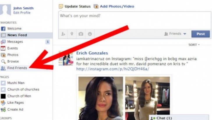 O tastă îţi arată cine ţi-a vizitat profilul de Facebook