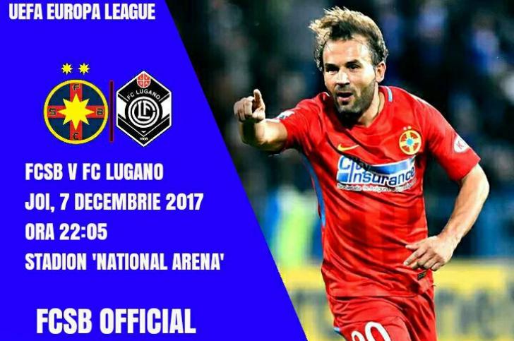 FCSB, ghinion în meciul cu Lugano! Steliștii au ratat locul 1 în grupă și vor avea o soartă grea