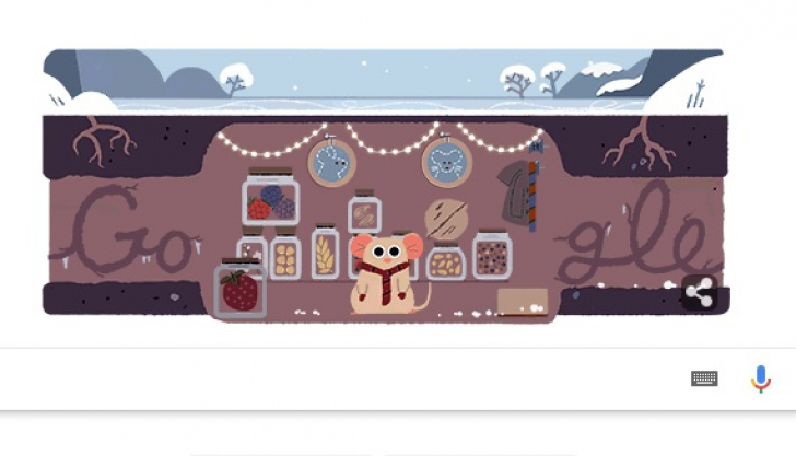 SOLSTIŢIUL DE IARNĂ 2017. Google are un Doodle special. Ce este solstiţiul de iarnă