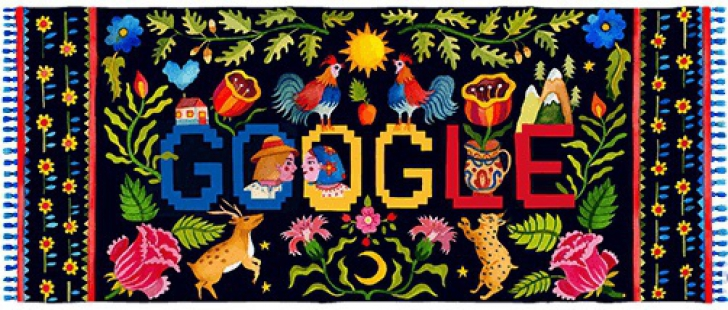 Google Doodle - Ziua Nationala