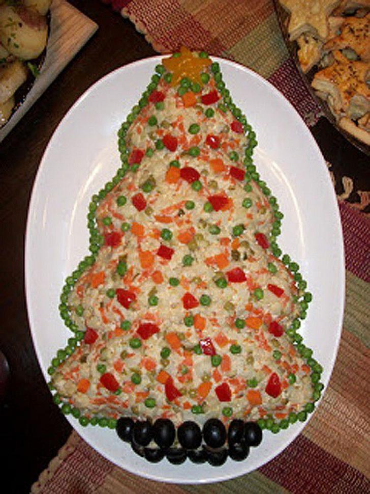 Cele mai bune idei de ornat salata de boef pentru Crăciun