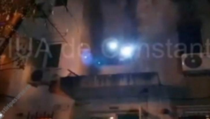 Incendiu într-un bloc din Constanța: Cel puțin 5 victime