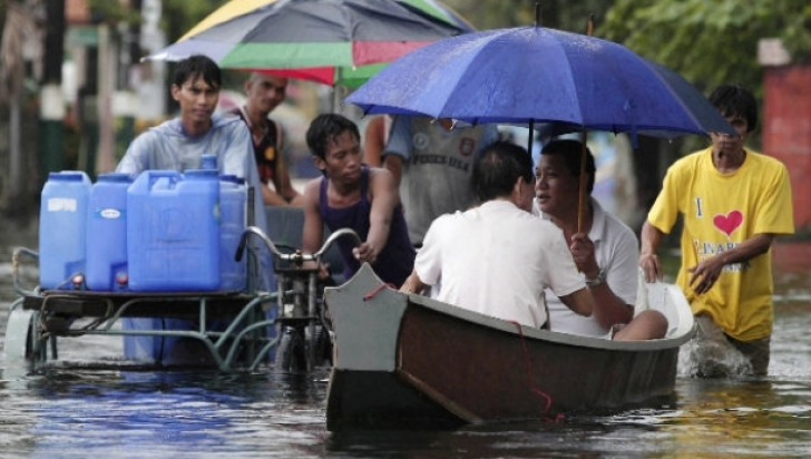 Taifunul Goni face ravagii în Filipine