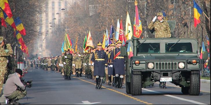Parada de Centenar din București, cea mai mare din ultimii 28 de ani