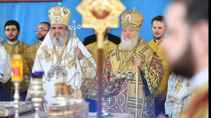 Patriarhul Daniel și patriarhul Rusiei, Kiril