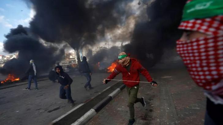 Proteste violente în Cisiordania şi Gaza