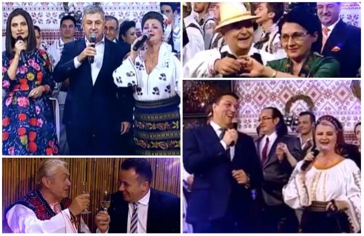 """Imagini inedite. Florin Iordache şi Şerban Nicoale cântă melodii de petrecere: """"Puşca şi cureaua""""..."""
