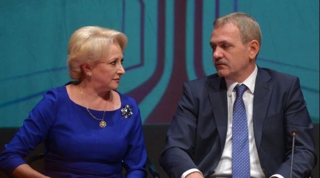 Vorica Dăncilă şi Liviu Dragnea