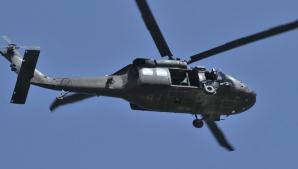 Elicopter prăbușit