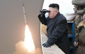 Racheta a lovit un oras din Coreea de Nord