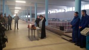 Apă sfințită direct de la robinet, în Prahova şi Dâmboviţa