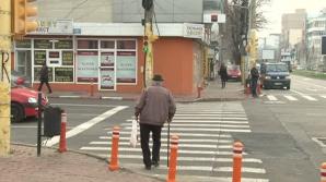 Pietonii din Constanța au la dispoziție zece secunde ca să traverseze pe verde un bulevard din oraș