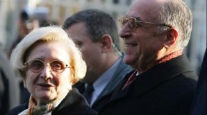 Ion Iliescu si sotia sa