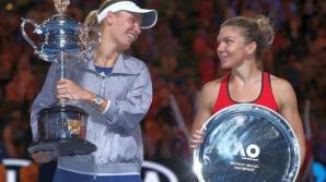 Wozniacki a învins-o pe Halep la Australian Open