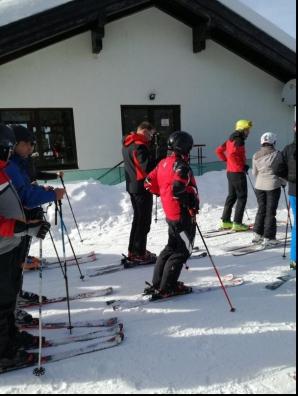 Preşedintele Iohannis, la schi în munţii Şureanu