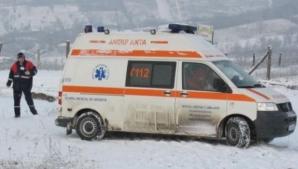 Ambulanțe înzăpezite