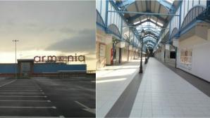 Mall-ul Armonia s-a transformat în fabrică