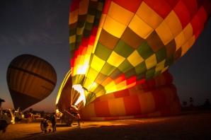 Balon cu aer cald s-a prăbușit în Egipt