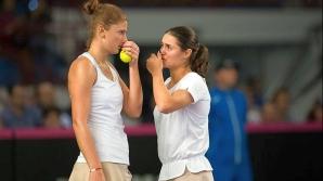 Irina Begu vs Monica Niculescu