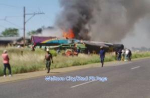 Accident de tren în Africa de Sud