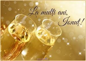Felicitări Sf Ion: La multi ani Ionut, Ioana, Ion, Ionela si Ioan!