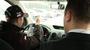 Greşeala pe care o fac mulţi şoferi iarna. Sfaturi preţioase de la un pilot de drift