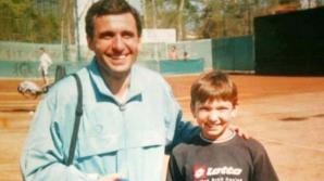 Gheorghe Hagi alături de micuța Simona Halep, acum mulți ani