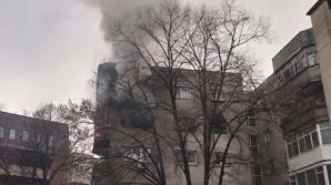 Incendiu în Dorobanți