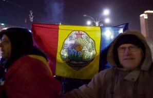Protest în Piața Victoriei, de ziua Micii Unirii / Foto: Inquam Photos / Liviu Florin Albei