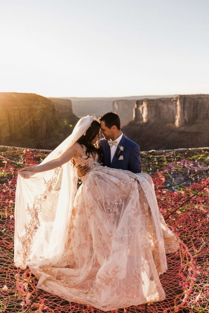 Fotografiile de la această nuntă îţi vor tăia răsuflarea