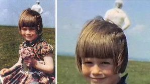 Fetița și astronautul. O poză stranie cu explicație banală