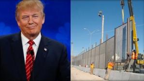 Trump caută bani pentru zid