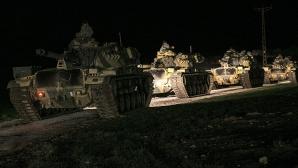 Tancurile Turciei au pătruns în Siria