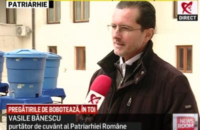 Vasile Bănescu, purtătorul de cuvânt al Bisericii Ortodoxe