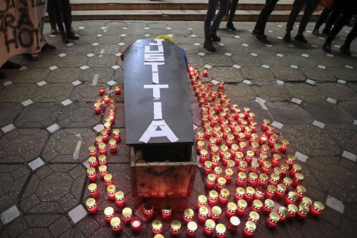 Sute de studenți au protestat la Timișoara pentru justiție, împotriva corupției