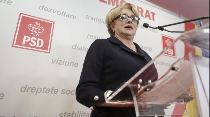 Viorica Dăncilă a citit lista cu noii miniştri, la întrebări răspunde Dragnea