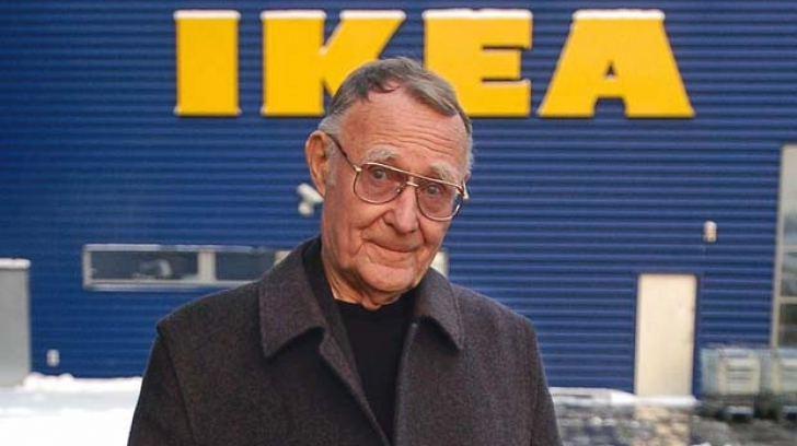 Fondatorul Ikea, miliardarul Ingvar Kamprad, a decedat la 91 de ani
