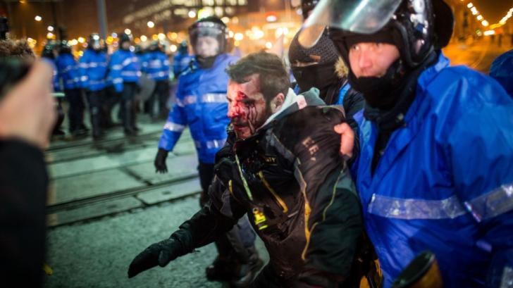 Dosarul violențelor din Piața Victoriei: Cum s-au organizat ultrașii să atace jandarmii