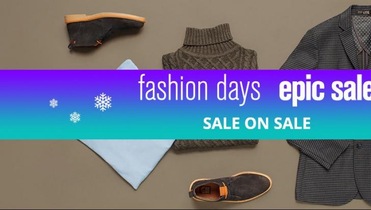 FashionDays Epic Sale. Reduceri de până la 80% pentru el