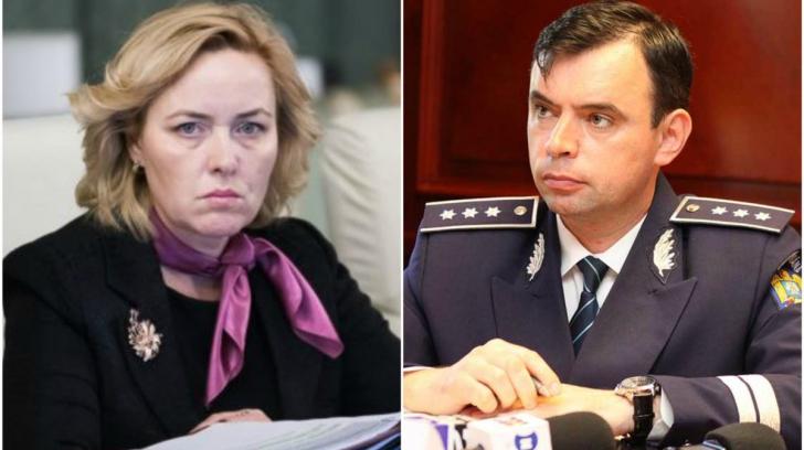 Şeful Poliţie Române, demis de Carmen Dan