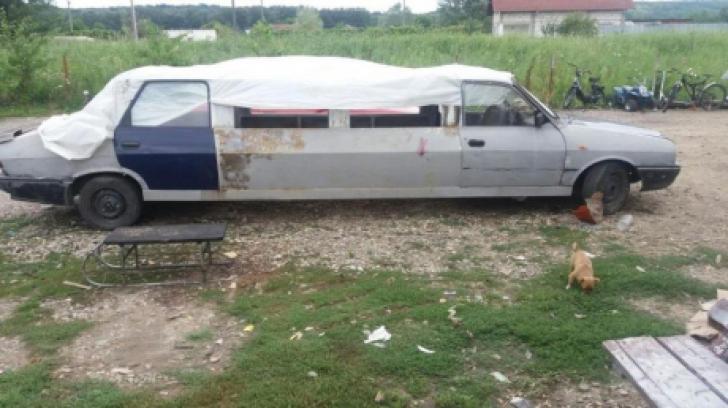 """Dacia 1310 de 7 metri lungime, de care nimeni nu ştia că există. O """"limuzină"""" unică"""