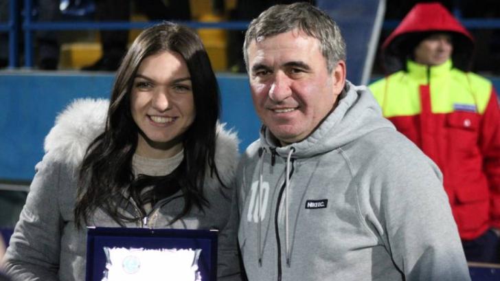 Hagi, mesaj pentru Simona Halep - Nu înceta să crezi, titlul de Grand Slam va veni
