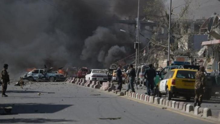 Explozie puternică la Kabul: Cel puţin 50 de răniţi
