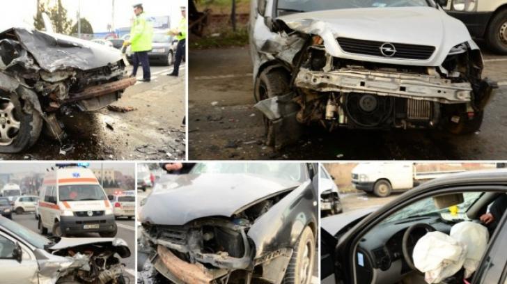 Accident șocant în Arad: Mai multe victime