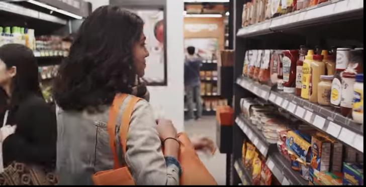 S-a deschis cel mai mare supermarket fără case de marcat(VIDEO)
