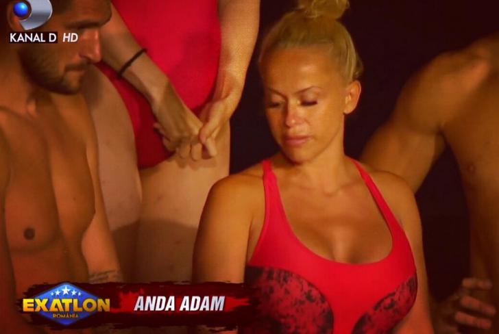 Anda Adam, goală la Exatlon. Imagini surprinse pe camere