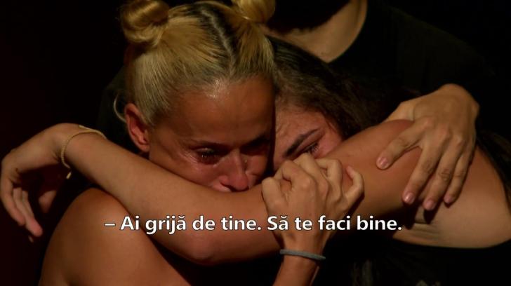 Prima reacție a Andei Adam, după ce a părăsit, în lacrimi, concursul Exatlon
